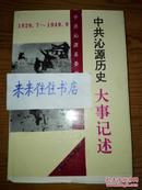 中共沁源历史大事记述(1980----2009)
