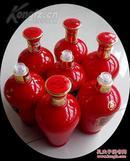 川酒酒瓶一组7个____宜宾五粮液股份有限公司《五粮印象》T10