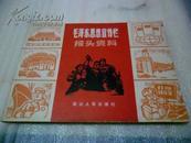 文革老画册,毛泽东思想宣传栏报头资料