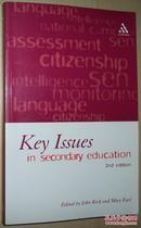 ◇英文原版书 Key Issues in Secondary Education: 2nd John Beck