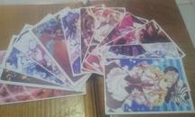 明信片--动画美女  12张合售