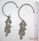 清或民铜罩钩两对    品见图