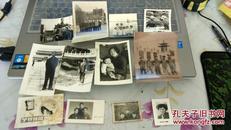 黑白老照片12张合售