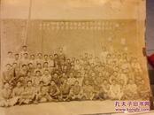 B2962 1947年空军工兵团驻昆官佐欢送曹指挥官赴京留影