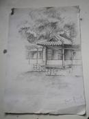 杭州素竹园    建筑素描