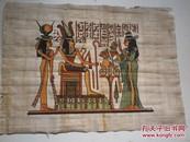 外国古代女人物  版画.