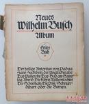 Neues Wilhelm Busch Album  威廉布施漫画集 1910年发行