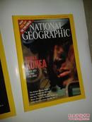 NATIONAL GEOGRAPHIC:APRIL 2003等【美国国家地理2003共9本合售不重复见图、747】内有2册附地图