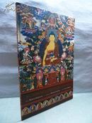 原版 Buddhas of the Celestial Gallery 佛的天廊 西藏唐卡   超大开本