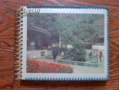 1970年代相册一本,封面虎跑泉:家庭合影,庐山、南京、上海、苏州等地留影,总大小70余张