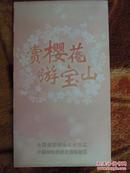 上海宝山区旅游观光图-4开地图