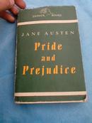 傲慢与偏见 PRIDE AND PREJUDICE 英文原版  1946年版 民国旧书 馆藏见图 (品相如图避免争议)