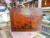 收藏古韩文化、展示襄垣历史------襄垣地域文化集中营-----民国手绘人物【化妆品箱子】-----虒人珍藏