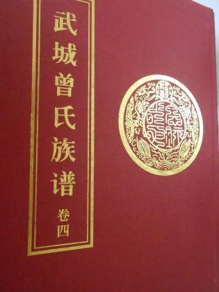 武城曾氏族谱(卷1-6)