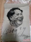 铅笔手绘毛主席像