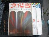 文化宫1985年第1期 创刊号第2,3期。3本合售
