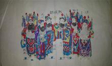 杨家埠木版年画版画大全之115*三国故事取成都