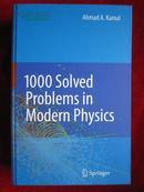 1000 Solved Problems in Modern Physics(英语原版 精装本)现代物理学中1000个解决了的问题