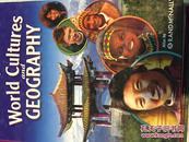 世界文化地理/world cultures and geography(英文原版旧书,中文书名不准确,以图片为准,大16开精装,内略有笔迹)