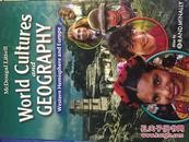 世界文化地理/world cultures and geography Western Hemisphere and  Europe(英文原版旧书,中文书名不准确,以图片为准,16开精装,内略有笔迹)