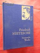 Friedrich Nietzsche Gesammelte Werke (尼采著作集) 全一册,,精装本