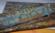 丝绣唐卡1,美国回流,尺寸:89*61cm