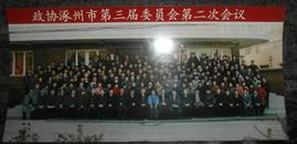老照片  政协涿州市第三届委员会第二次会议 1994
