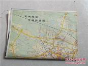 常州城区交通旅游图