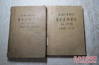 全国主要期刊重要资料索引1952年10-12,1953年1-6期1955年1-3期