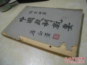 中国政制概要(民国35年上海初版,港版)
