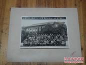1150:杭州西湖照相馆摄 81年上海市总工会屏风山工人疗养院第十八期虹口区修养员留念合影照片一张有衬垫