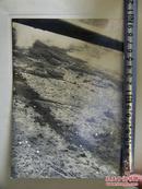 ★大东亚战争报道写真录之《日军伞兵部队降落苏门答腊巨港照片》1942年发行!20:15cm!背面贴详细说明单独页/品优!1942年3月日军摄制