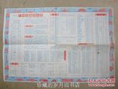 最新广州市区交通游览图 (背面是广州市区交通图) 【1982年  1版1印】