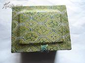 印章盒  锦盒  可盛放印章 (4x3x3cm) 略有缓冲空间  孔网唯一  包邮宅急送