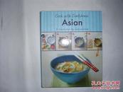 (16开精装外文彩图原版菜谱)cook with confidence Asian 自信的亚洲烹饪