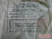 极少见带最高指示的北京铁鸟胡同准住证