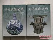 中国文物大典(第1册:铜器 陶器 石器 玉器,第2册 瓷器 骨牙角蚌器 金银器 玻璃器 绘画 书法)全两册 铜版彩印