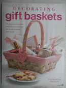 英文原版家装书:DECORATING gift baskets