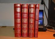 《悲剧六部》《喜剧八部》《历史剧六部》《诗集》莎士比亚著 4卷合售,富兰克林出版社上等真皮精装限量版 三面刷金,英文原版,极具收藏价值