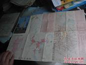 1982年二版印刷:重庆市交通图
