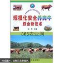 肉牛养殖技术书籍 规模化安全养肉牛综合新技术——养殖业重点推广新技术致富图书
