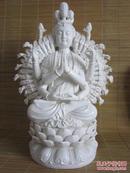 瓷器陶器德化瓷塑佛像、千手观音