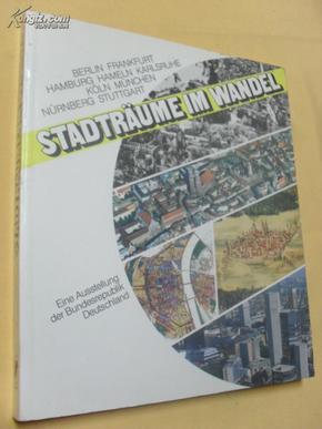 德文原版 大开本 多图    Verkaufen Sie:       Stadträume im Wandel