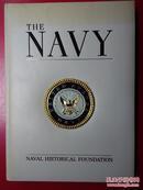 THE NAVY 美国海军史 (英文原版)(8开皮面硬精装,铜版彩页)