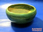 绿釉小花盆