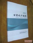 2013年甘肃统计摘要