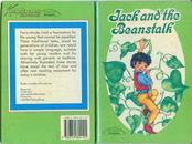 彩绘精装英文版连环画/小人书《杰克和豆茎》