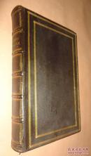 【补图】1838 年The Book of Common Prayer《圣经:公祷书》摩洛哥细纹羊皮古董书 品相绝佳 配补精美彩色插图 送礼佳品