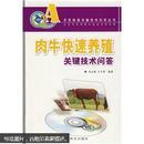 肉牛养殖技术书籍 肉牛快速养殖关键技术问答