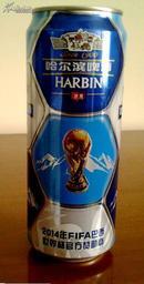 2014 巴西世界杯足球 空啤酒罐 【限量纪念版】